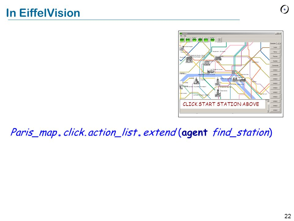 22 In EiffelVision Paris_map. click.action_list.