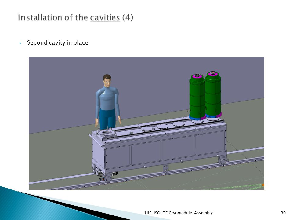  Second cavity in place HIE-ISOLDE Cryomodule Assembly30