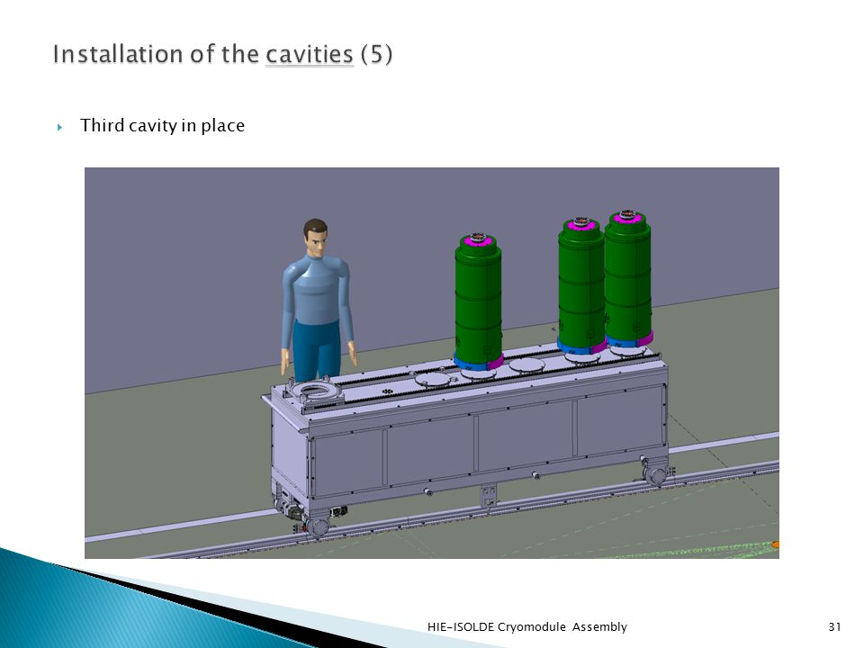  Third cavity in place HIE-ISOLDE Cryomodule Assembly31