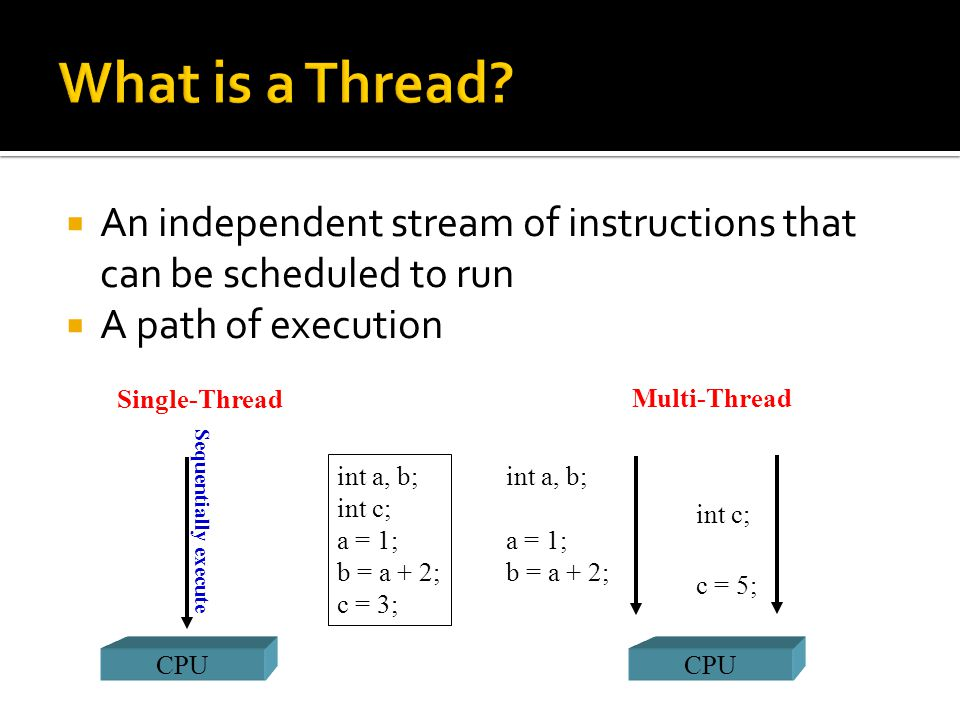  pthread_self()  It returns the unique, system assigned thread ID of the calling thread  pthread_detach() Return 0 if OK, nonzero on error  It can be used to explicitly detach a thread