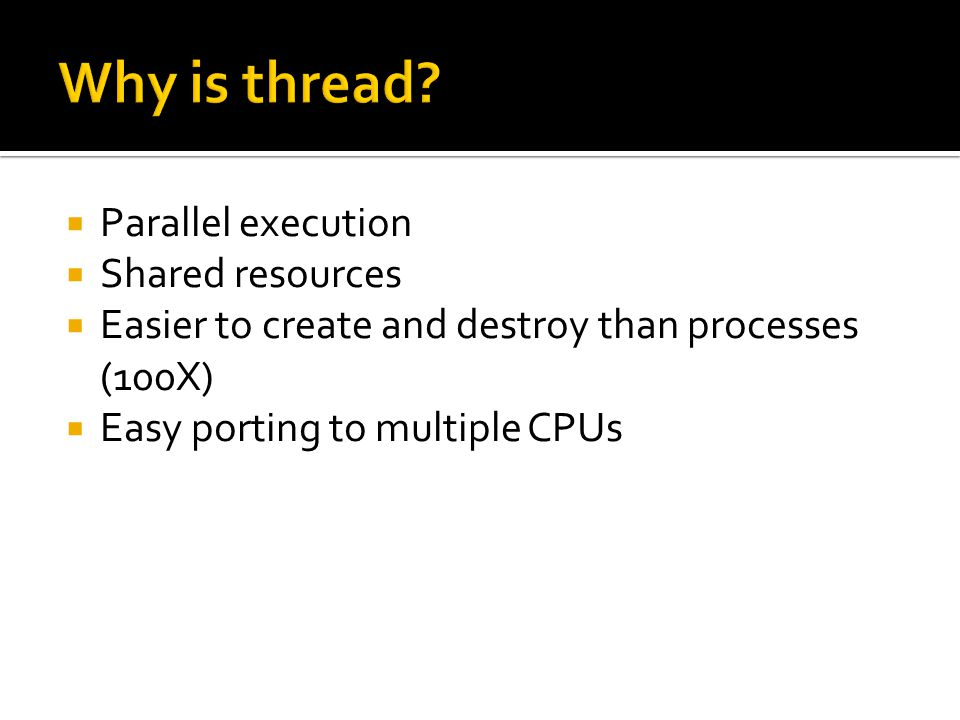  Mutexes are used  to prevent data inconsistencies due to operations by multiple threads upon the same memory area performed at the same time  to prevent race conditions where an order of operation upon the memory is expected