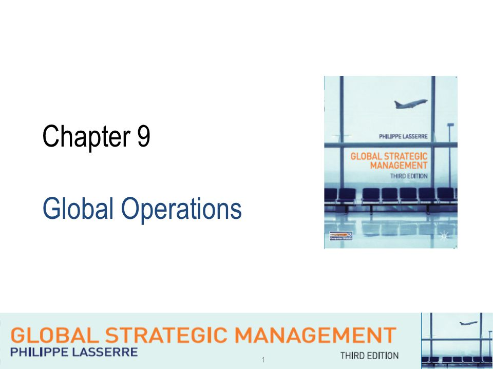 1 Chapter 9 Global Operations