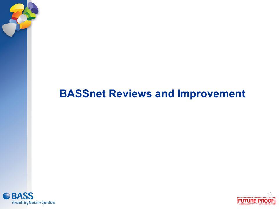 BASSnet Reviews and Improvement 16