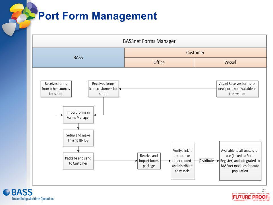 Port Form Management 24