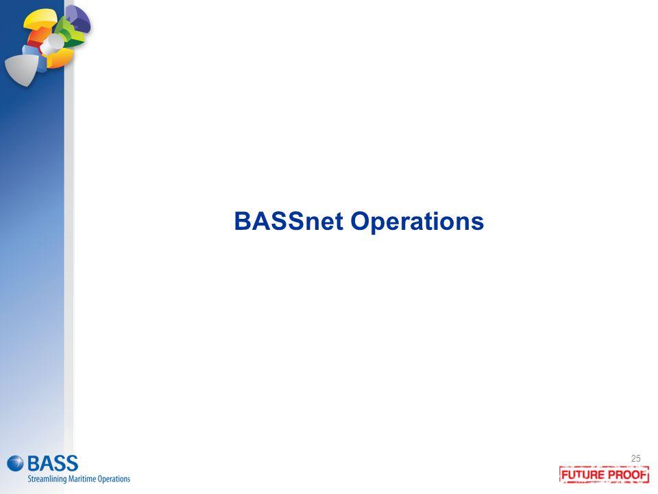 BASSnet Operations 25