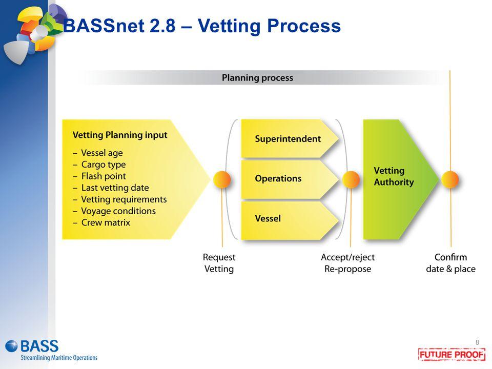 BASSnet 2.8 – Vetting Process 8