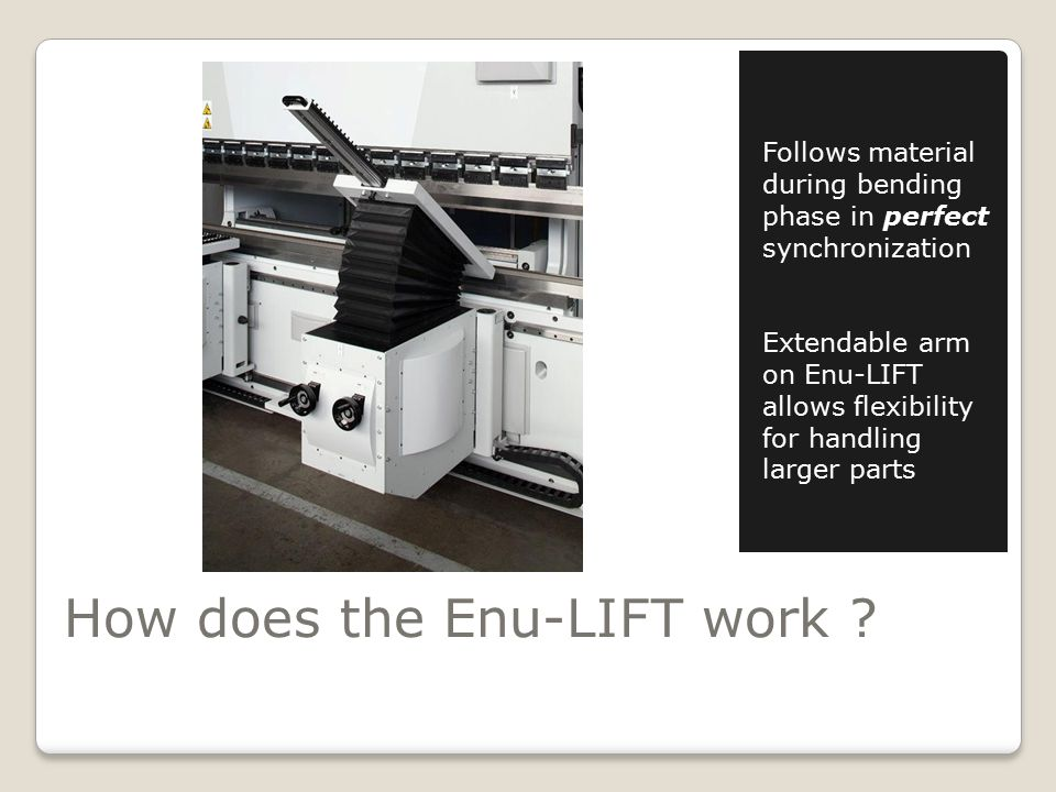 How does the Enu-LIFT work .
