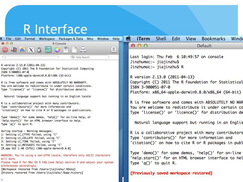 R Interface