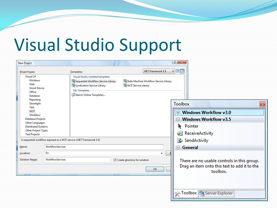 Visual Studio Support