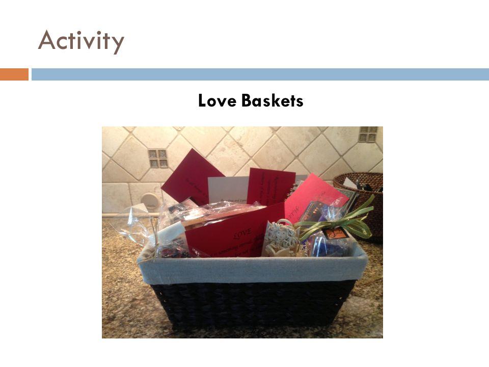 Activity Love Baskets
