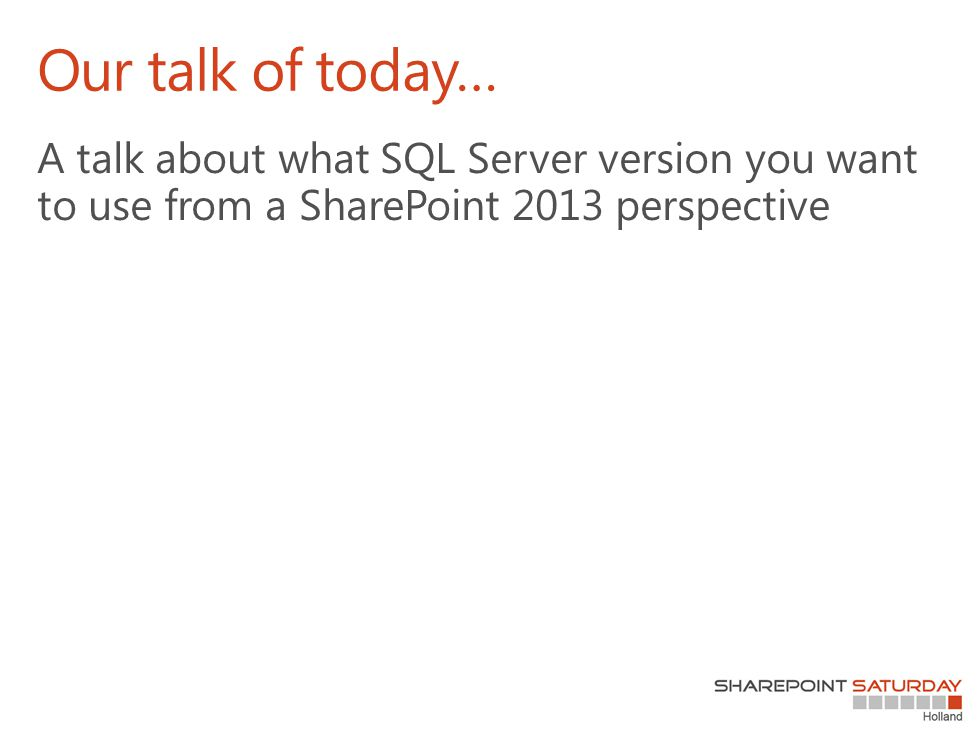 Functional level The advantages of SQL Server 2012 at functional level