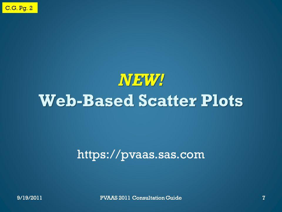 NEW. Web-Based Scatter Plots 7 C.G. Pg.