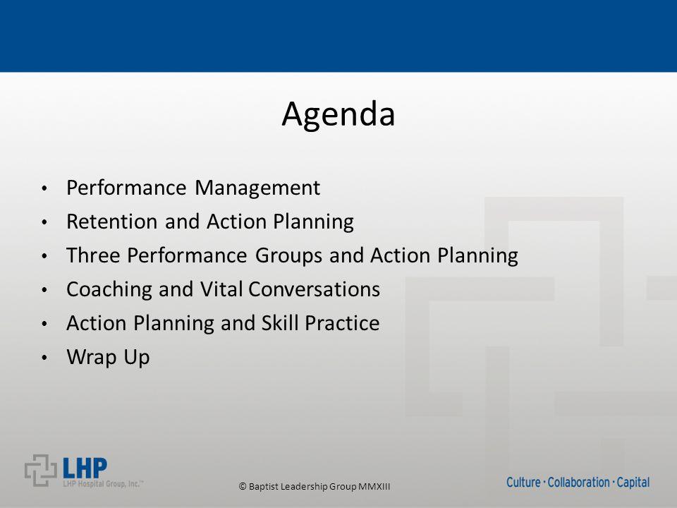 © Baptist Leadership Group MMXIII Vital Conversation Planners