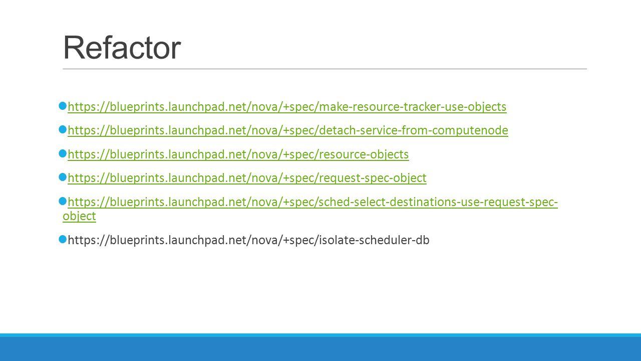 Refactor https://blueprints.launchpad.net/nova/+spec/make-resource-tracker-use-objects https://blueprints.launchpad.net/nova/+spec/detach-service-from