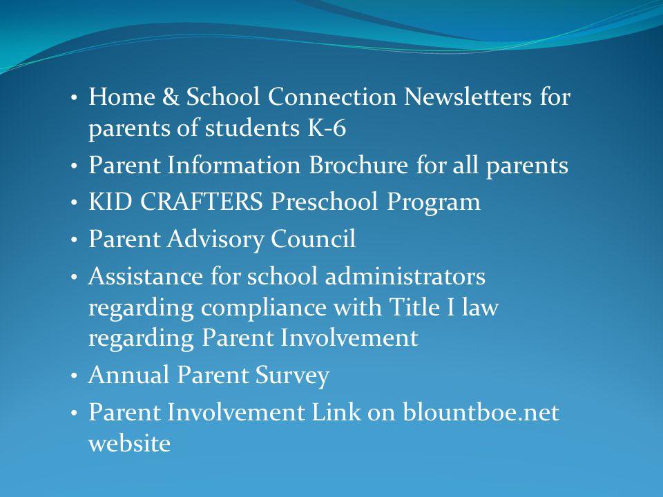 Rebecca J.Shew 205-625-4103 Blount County Resource Center 62561 U.S.
