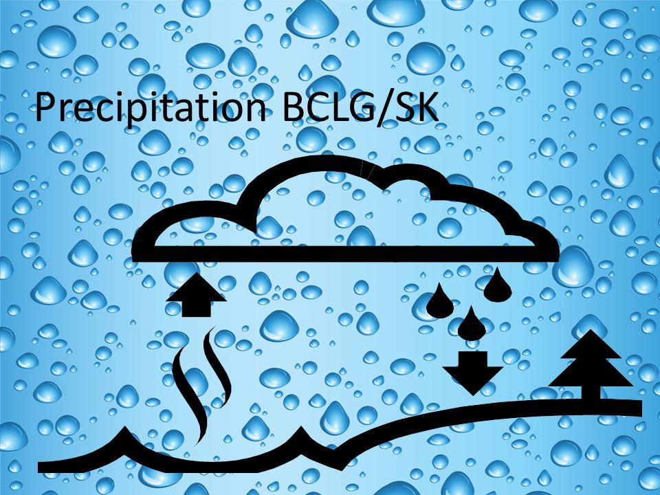 Precipitation BCLG/SK