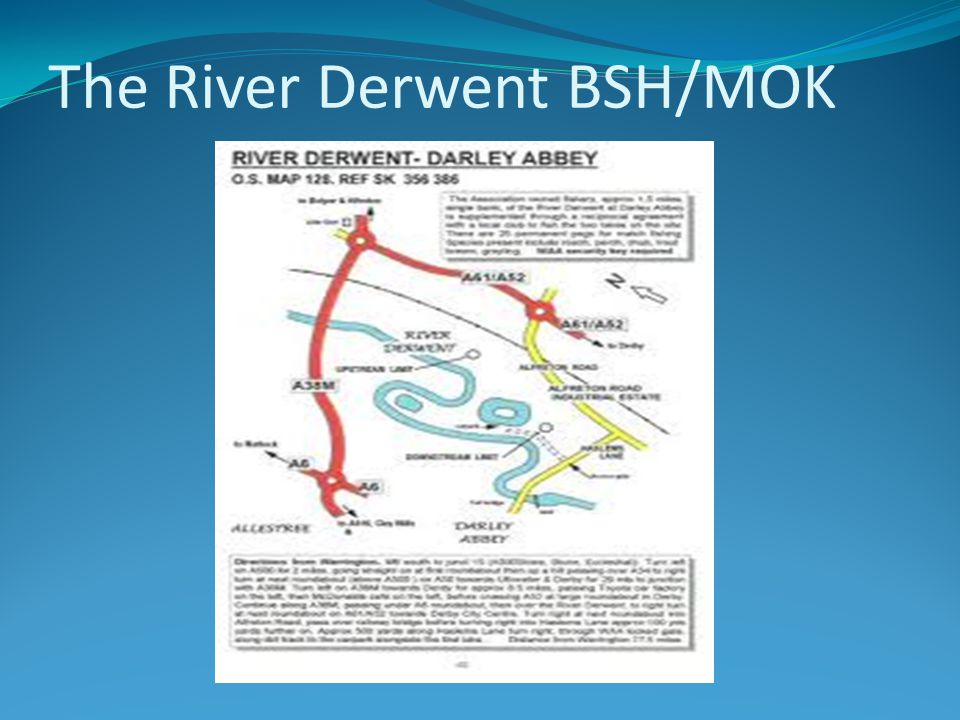The River Derwent BSH/MOK