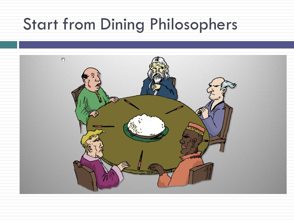 Start from Dining Philosophers
