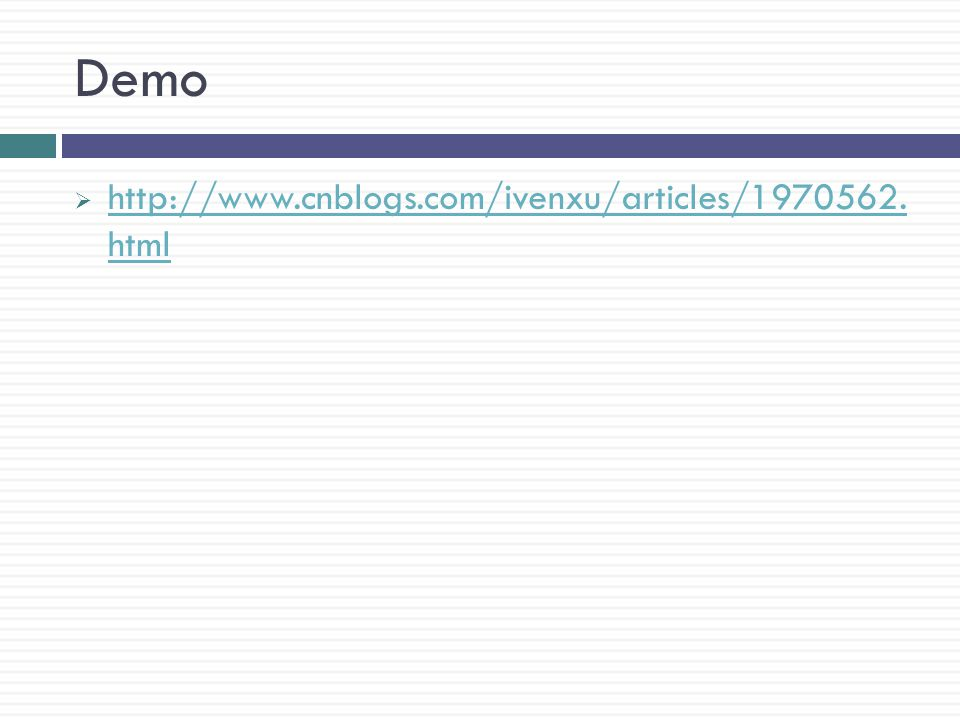 Demo  http://www.cnblogs.com/ivenxu/articles/1970562.