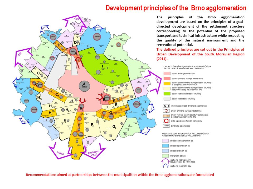 Development principles of the Brno agglomeration The principles of the Brno agglomeration development are based on the principles of a goal- directed