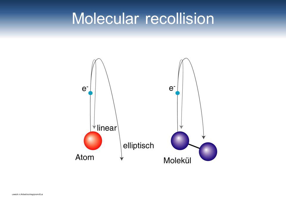 Molecular recollision