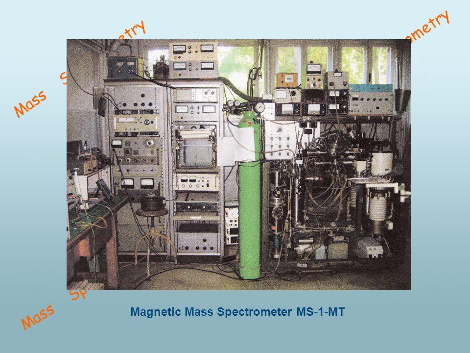 Mass Spectrometry Magnetic Mass Spectrometer MS-1-MT