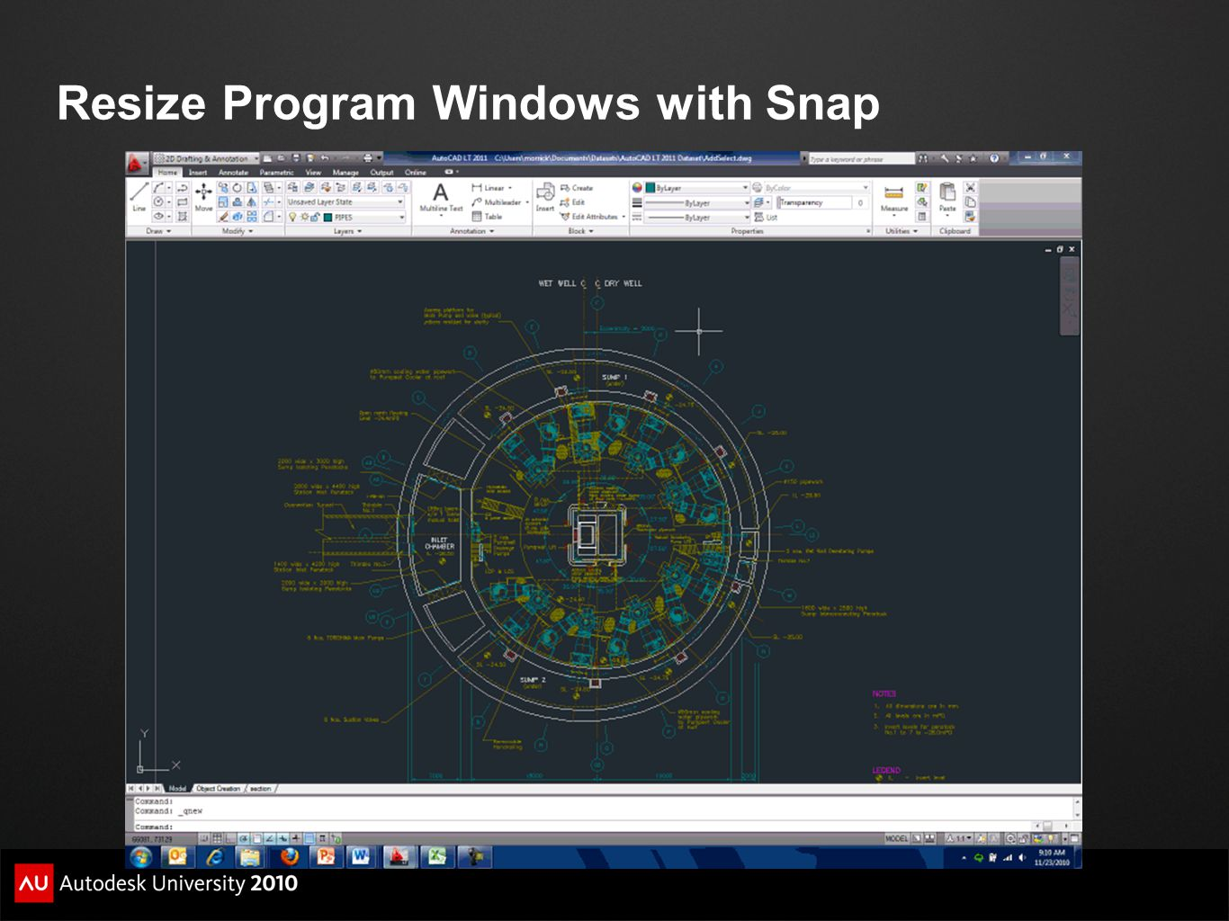Resize Program Windows with Snap