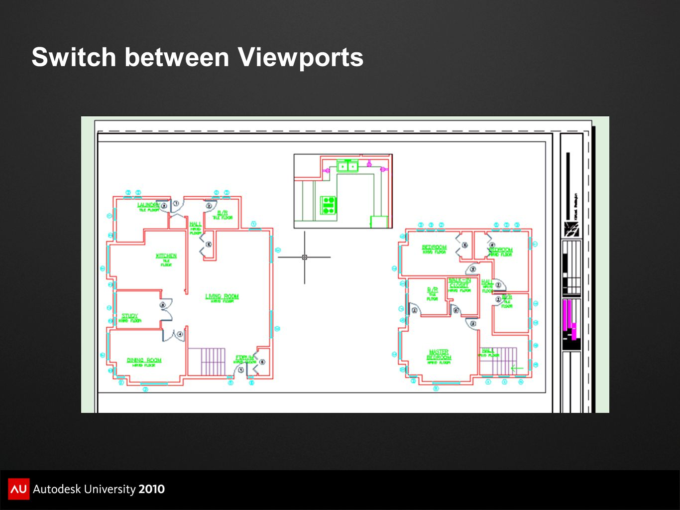 Switch between Viewports