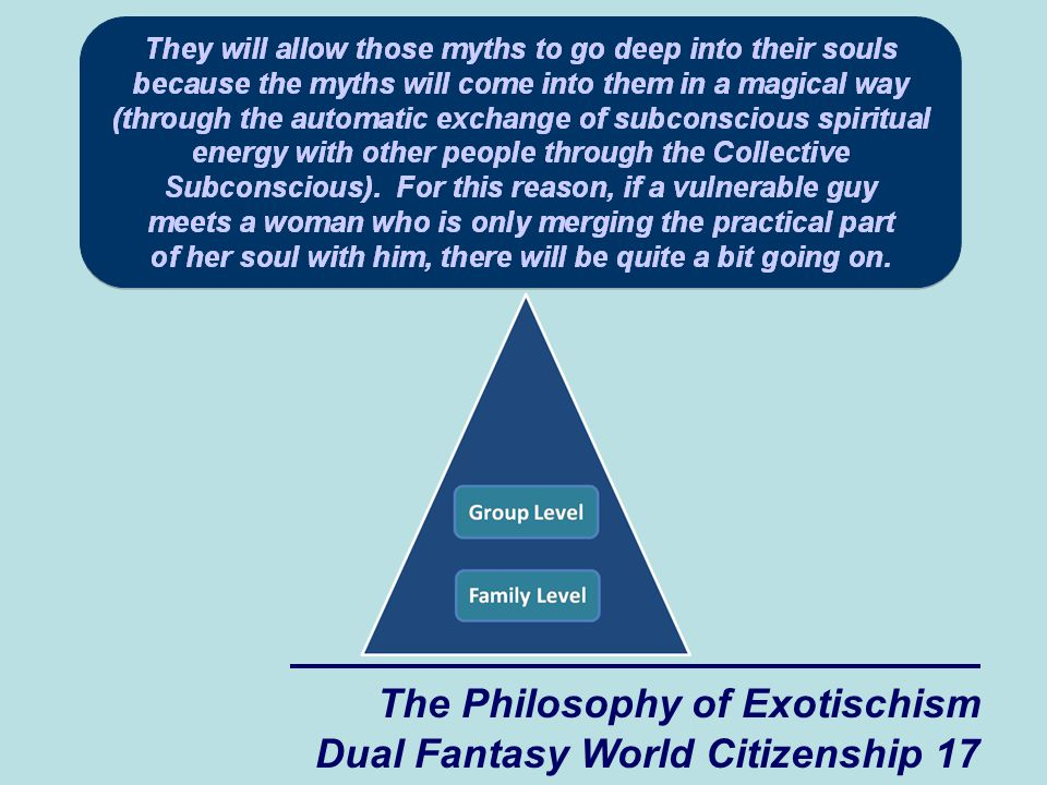 The Philosophy of Exotischism Dual Fantasy World Citizenship 17