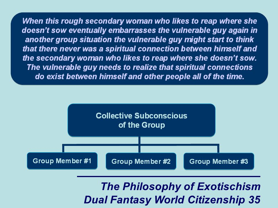 The Philosophy of Exotischism Dual Fantasy World Citizenship 35