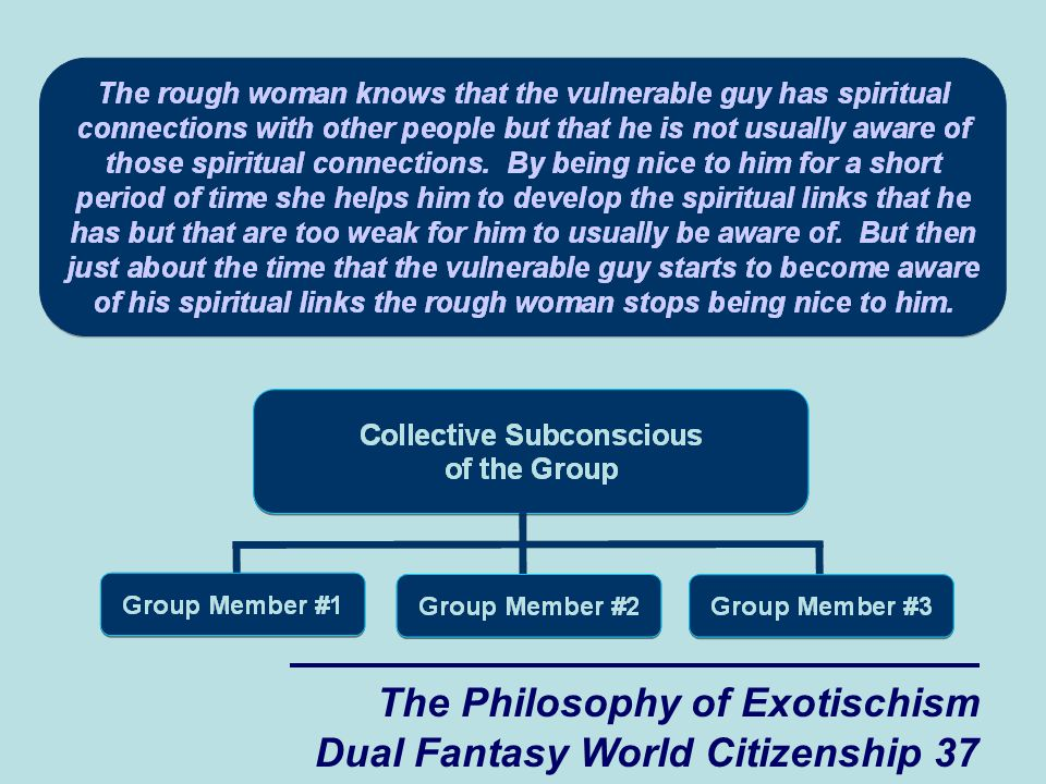 The Philosophy of Exotischism Dual Fantasy World Citizenship 37
