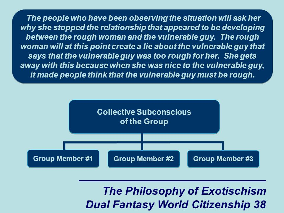 The Philosophy of Exotischism Dual Fantasy World Citizenship 38 The people who have been observing the situation will ask her why she stopped the relationship that appeared to be developing between the rough woman and the vulnerable guy.