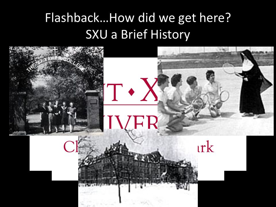 Flashback…How did we get here SXU a Brief History