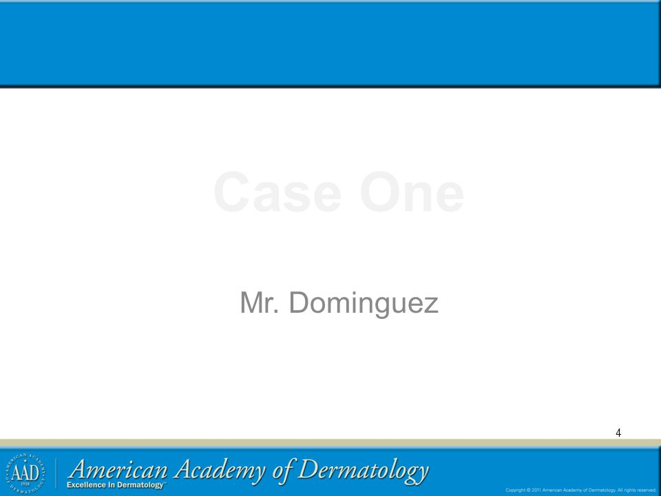 Case One Mr. Dominguez 4