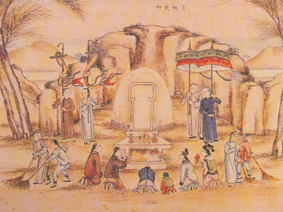 The Etiquette and Custom of Conducting a Funeral  The meaning of '' 喪 ''(Sang) is '' to pass away , The content contains the etiquette of holding a memorial ceremony for the dead and people offer sacrifices to god.
