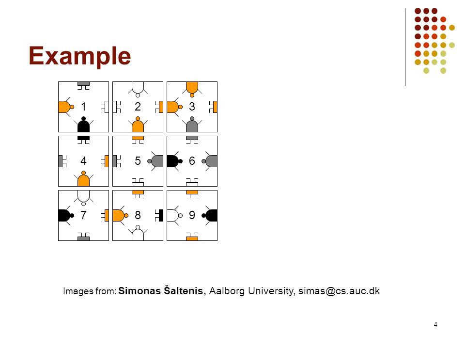 4 Example Images from: Simonas Šaltenis, Aalborg University, simas@cs.auc.dk 1 23 456 7 89