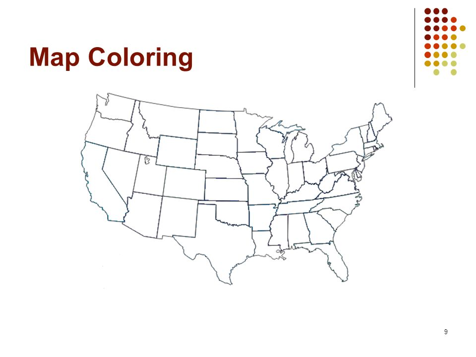 9 Map Coloring