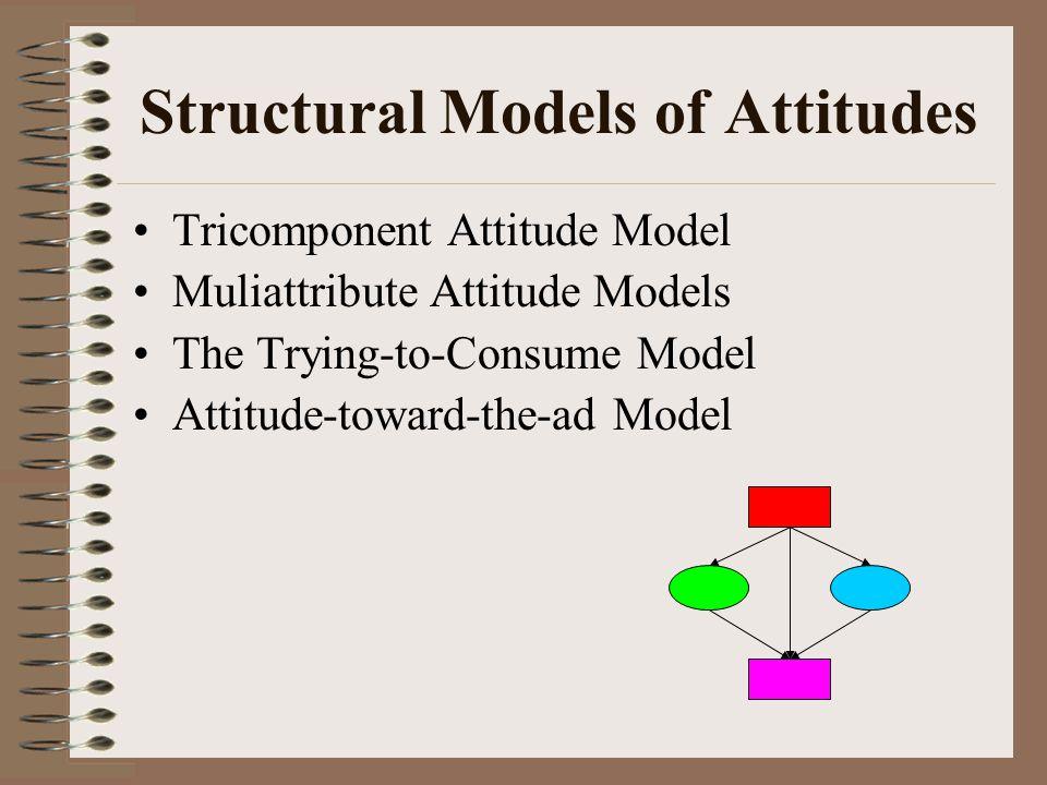Figure 8.1 A Simple Representation of the Tricomponent Attitude Model Conation Affect Cognition