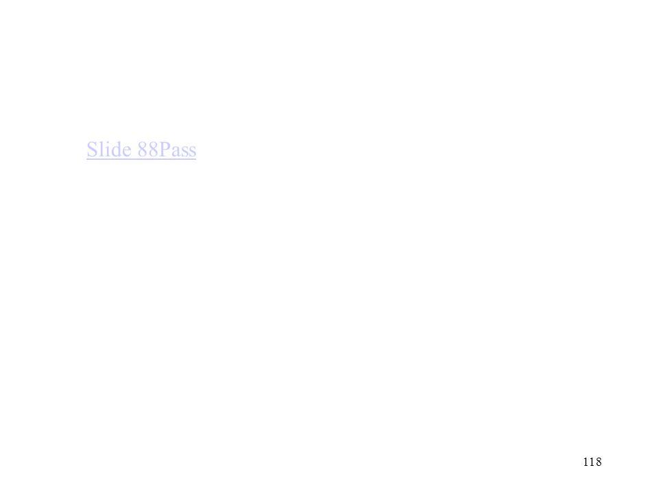 118 Slide 88Pass