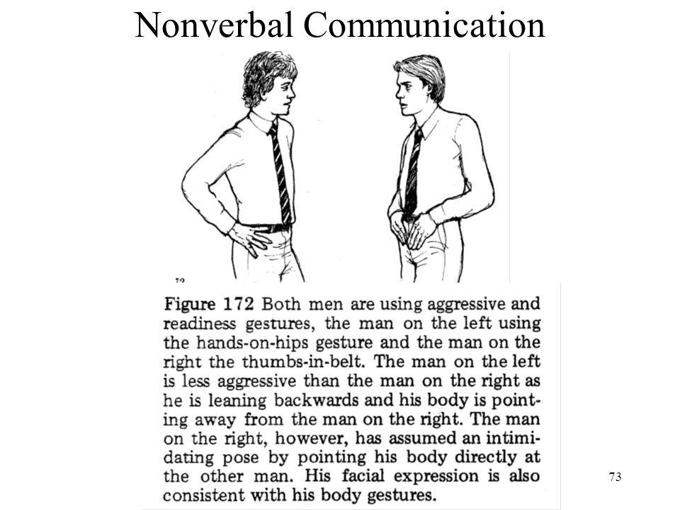 73 Nonverbal Communication