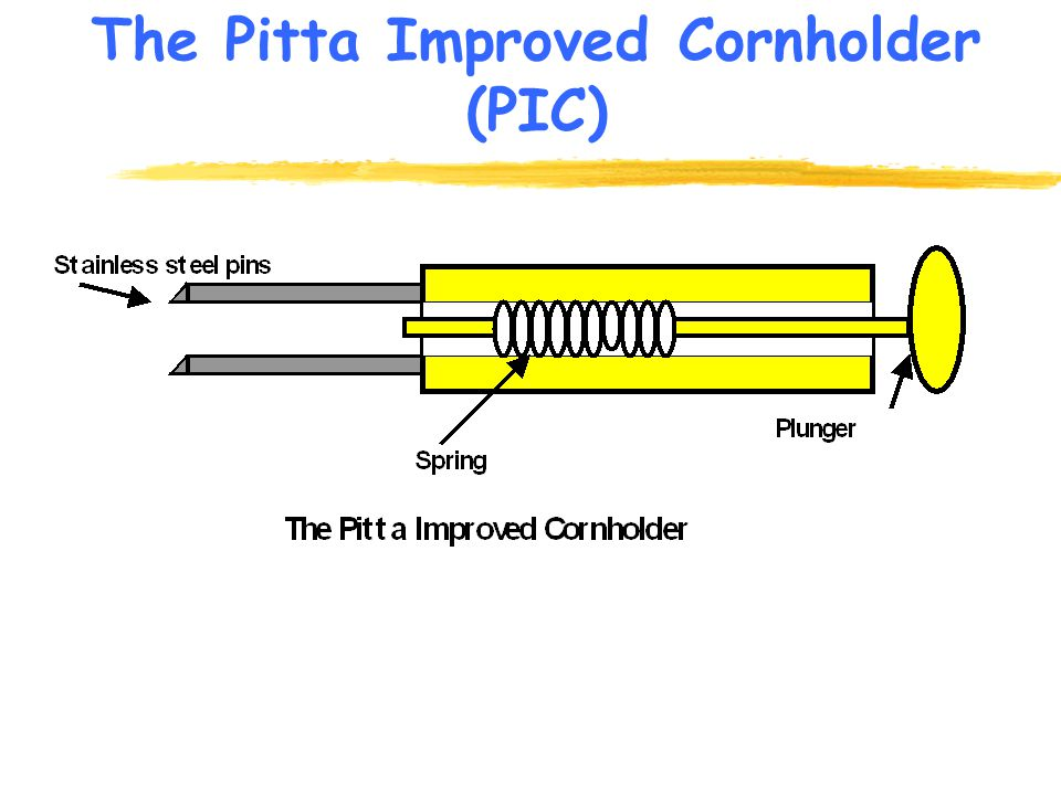 The Pitta Improved Cornholder (PIC)