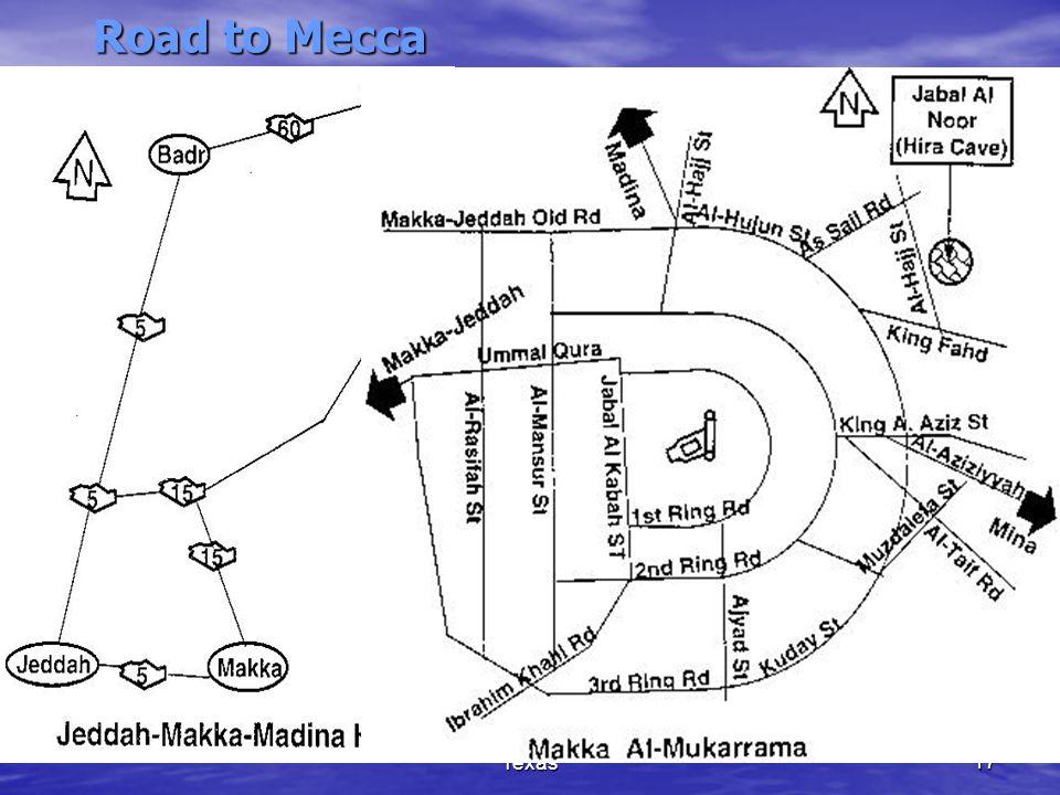 (c) Madina Masjid, Houston, Texas17 Road to Mecca