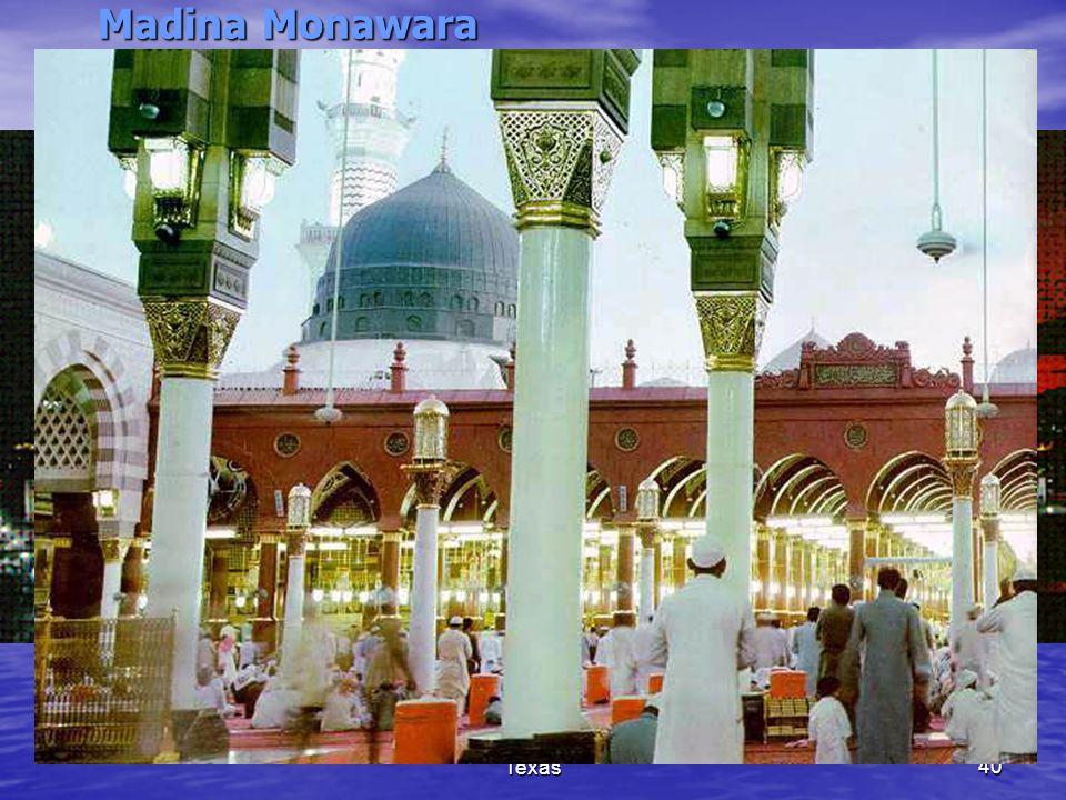 (c) Madina Masjid, Houston, Texas40 Madina Monawara