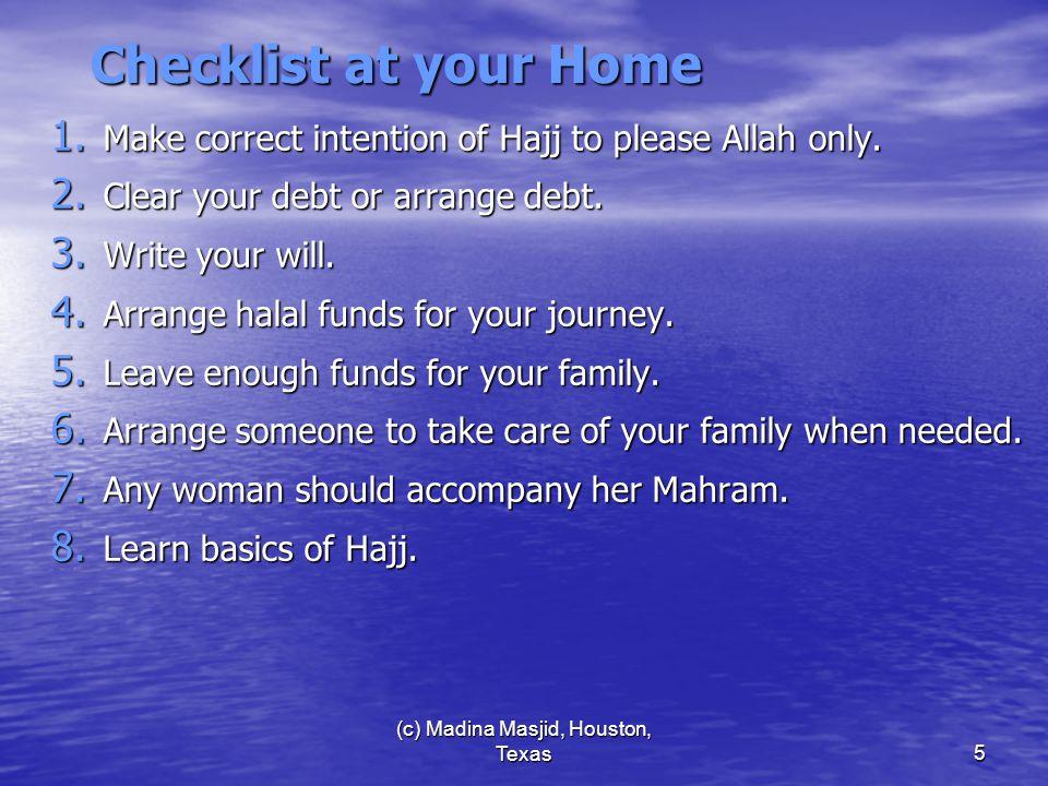 (c) Madina Masjid, Houston, Texas46 Stay @ Madina 1.