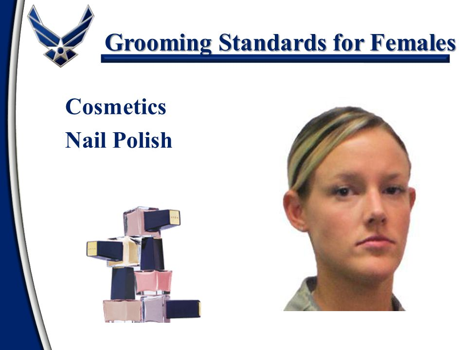 Grooming Standards for Females Cosmetics Nail Polish