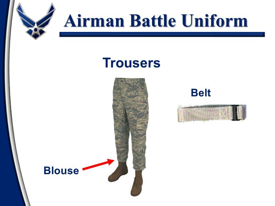 Airman Battle Uniform Trousers Blouse Belt