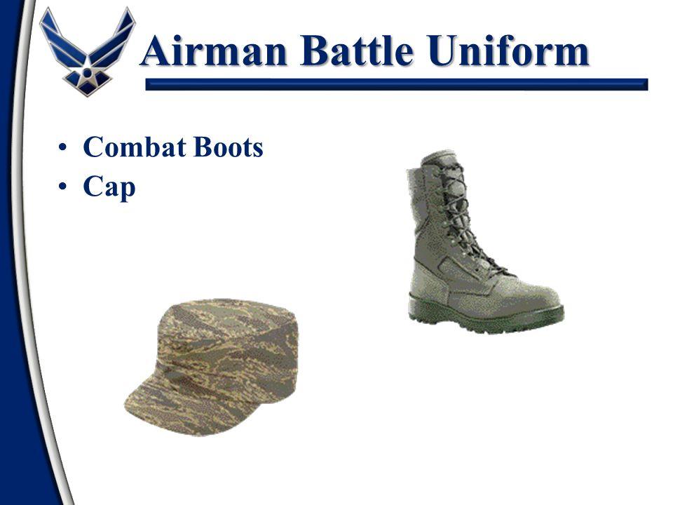 Airman Battle Uniform Combat Boots Cap