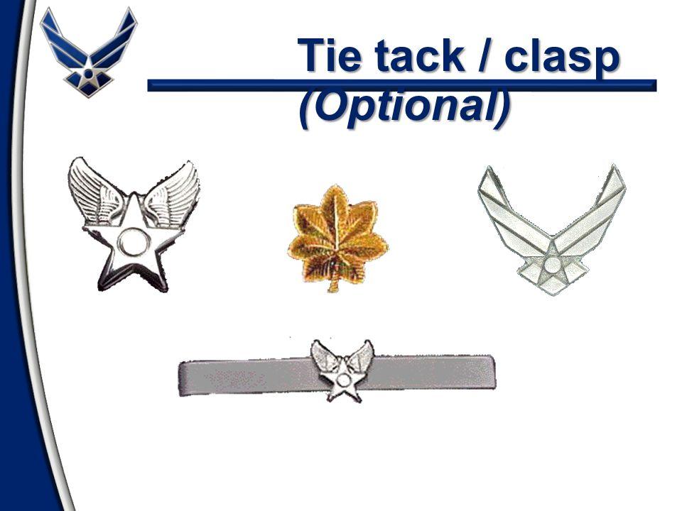 Tie tack / clasp (Optional)