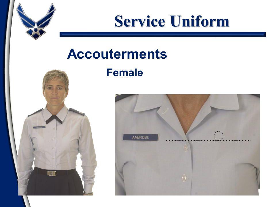 Service Uniform Accouterments Female