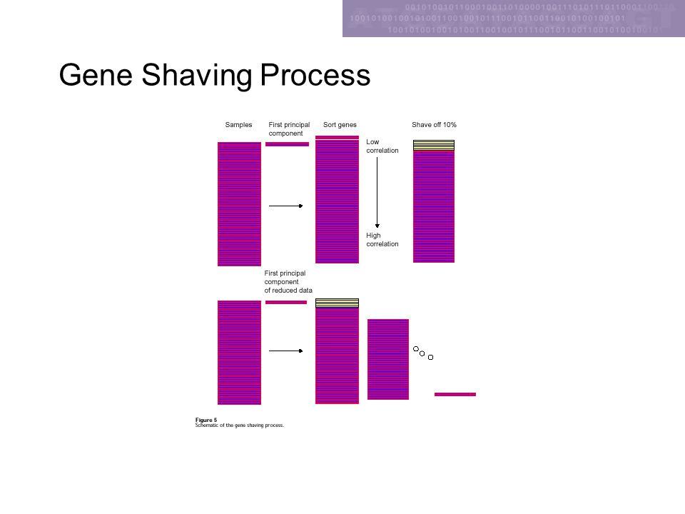 Gene Shaving Process